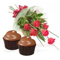 cupcakes-with-roses