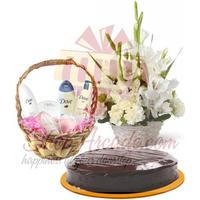dove-kit,-cake-and-flowers