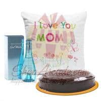 perfume-cake-and-cushion-for-mom