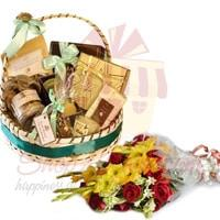 flowers-with-lals-gourmet-basket