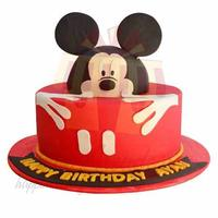 mickey-fondant-cake---black-and-brown-