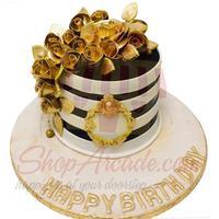 gold-flower-cake-my-new-bakery