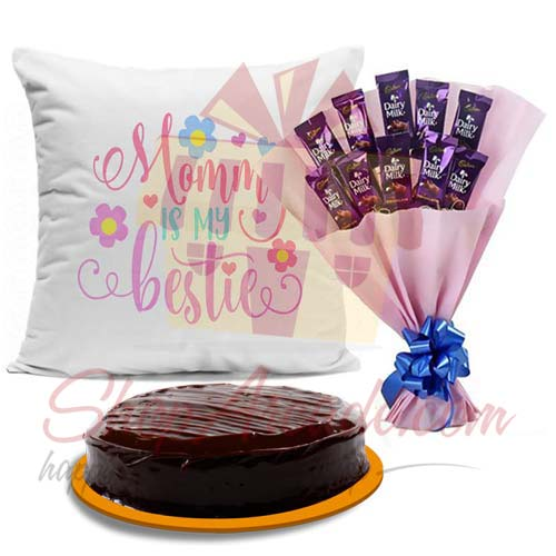 cushion-cake-and-cadbury-bouquet