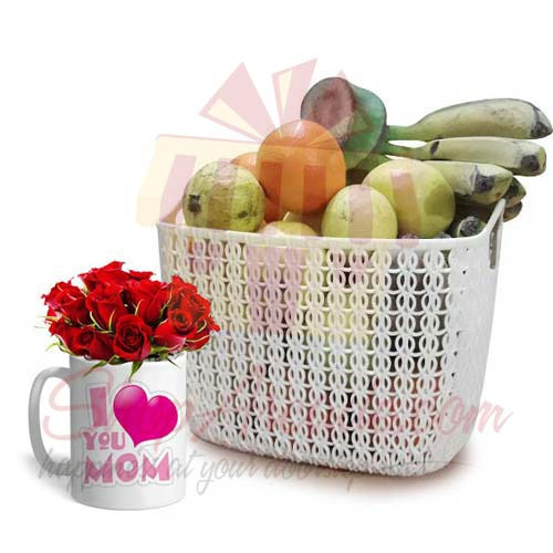 fruits-with-rocher-tray