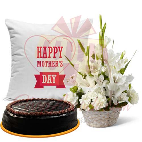 cake-and-cushion-with-glads-for-mom