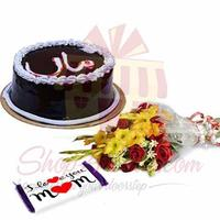 maa-cake-with-bouquet-and-chocs