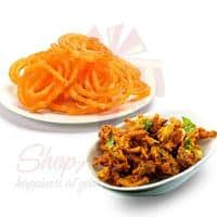pakoray-with-jalebi