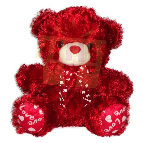 red-furry-bear-18-inches