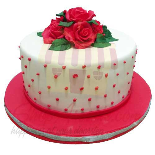 red-rose-cake---black-and-brown