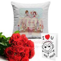 cushion-&-roses