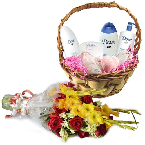 dove-bath-basket-with-flowers