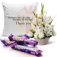 flowers-with-chocs-n-cushion