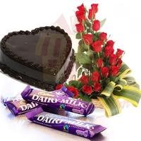heart-shape-cake-with-flowers-n-chocs