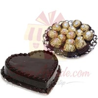 rocher-tray-with-heart-cake