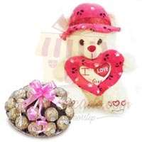 teddy-with-rocher-tray