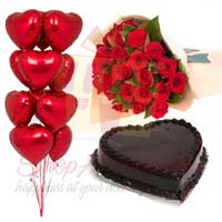 balloons-cake-and-roses