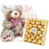 golden-teddy-with-large-ferrero-box