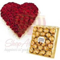 rose-heart-with-rochers-(24pcs)