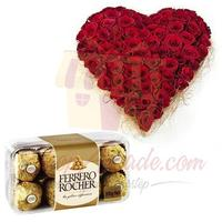 rose-heart-with-small-ferrero-box