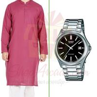 kurta-with-watch